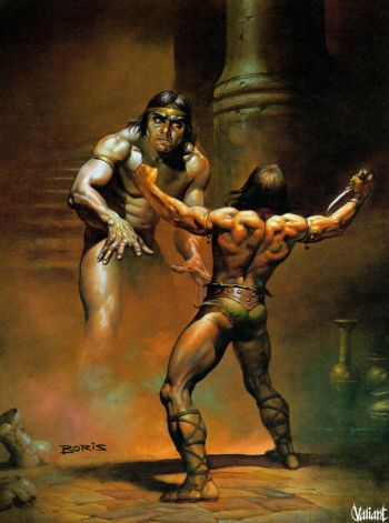Boris Vallejo: CONAN THE WANDERER, 1977